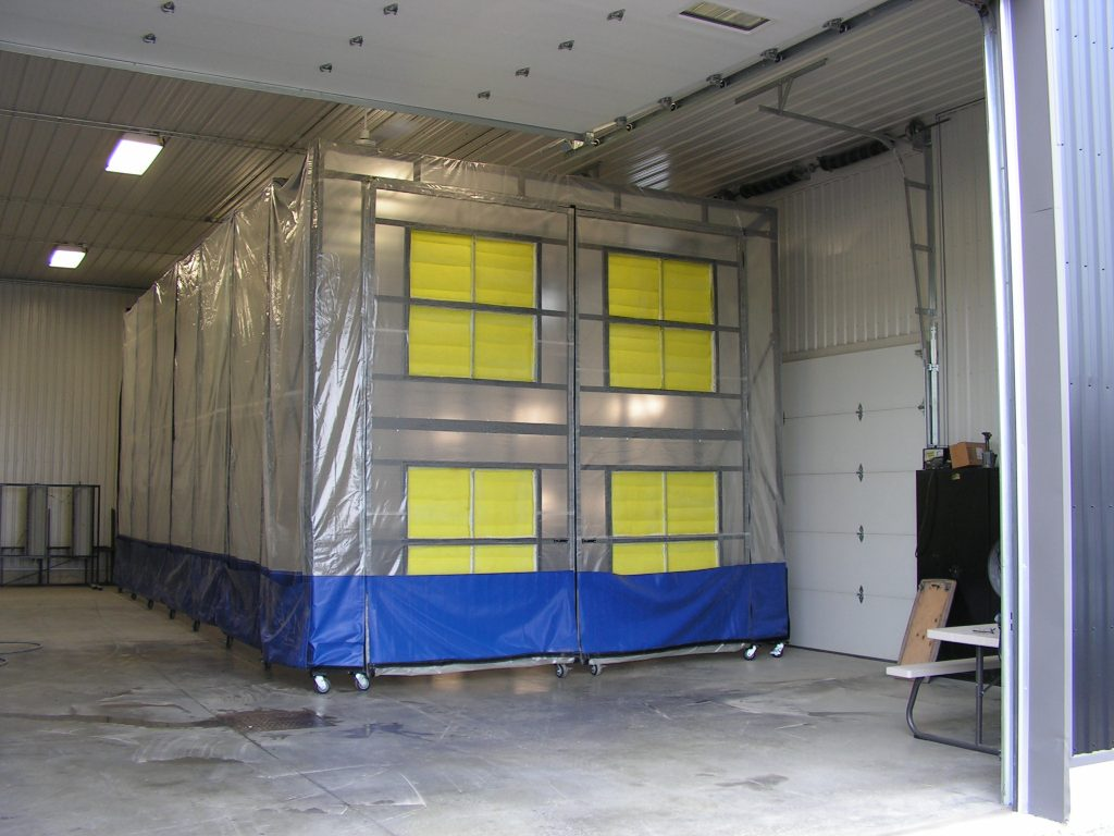Collapsible Booth Retactable Paint Booth For Sale Part 2